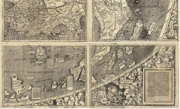 Mostra sul Planisfero di Martin Waldseemuller