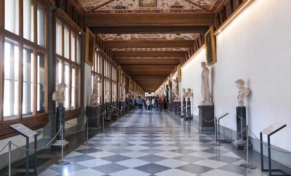 Uffizi in 3D