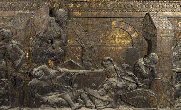 Restauro del pulpito della Resurrezione di Donatello