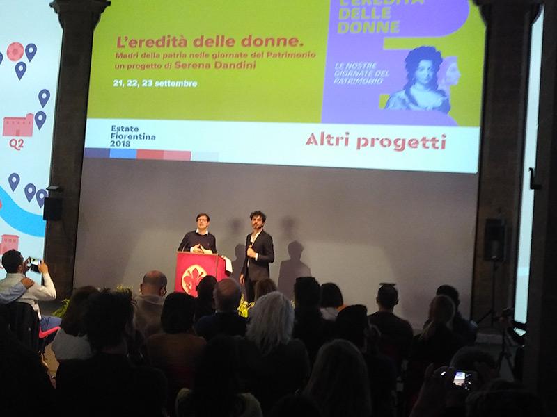 'La città dei lettori' e 'L'Eredità delle donne' nell'Estate Fiorentina 2018