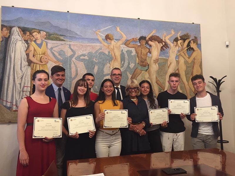 Studenti fiorentini in partenza con il programma Intercultura