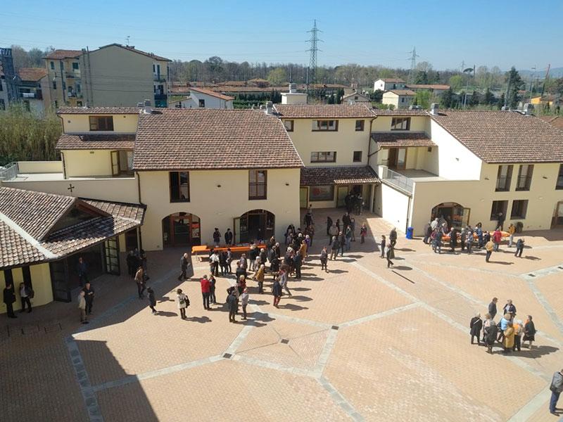 Inaugurato il secondo lotto della 'Casa della Carità'