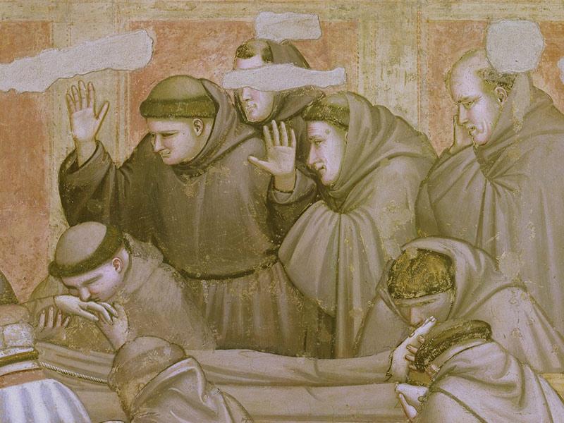 Giotto, restauro della Cappella Bardi in Santa Croce