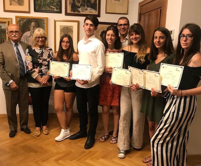Premiati gli studenti vincitori delle borse di studio con Intercultura