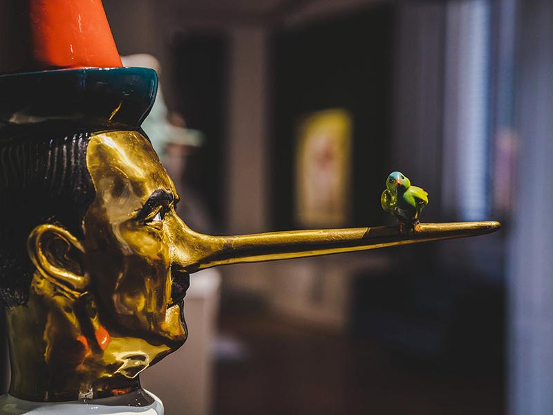 'Enigma Pinocchio' apre la nuova stagione di mostre a Villa Bardini