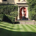 il giardino della sede di Fondazione CR Firenze