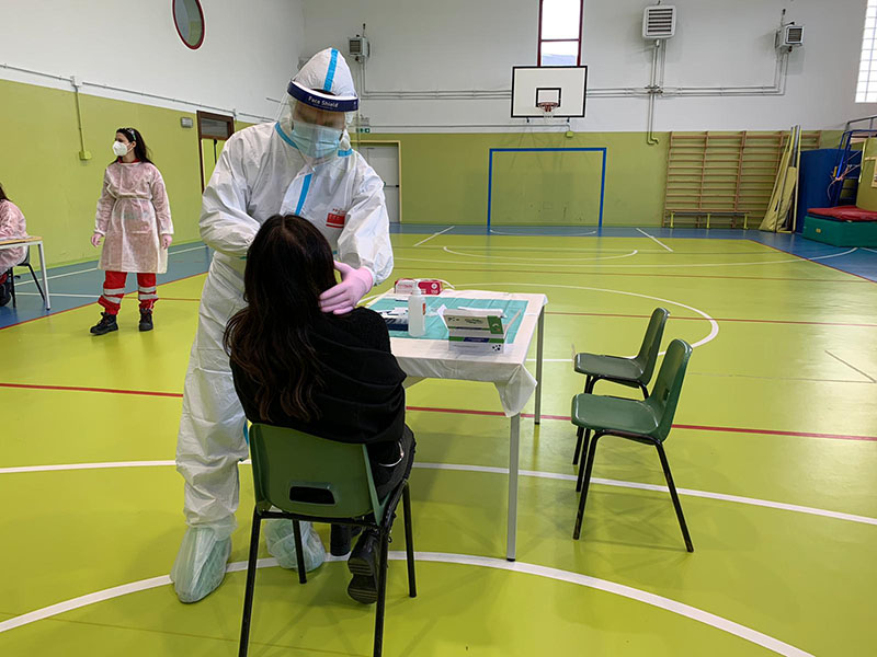 Test rapidi studenti