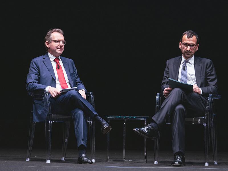 Andrea Greco e Umberto Tombari