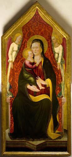 Madonna col Bambino in trono